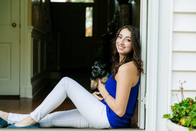New Canaan Senior Photographer
